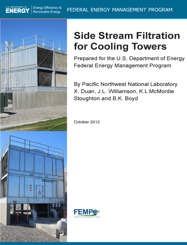 FEMP paper: Side Stream Filtration for Cooling Towers